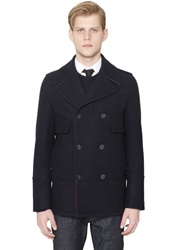 Valentino English Wool Peacoat