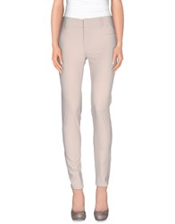 Dek'her Trousers Casual Trousers Women Light Grey