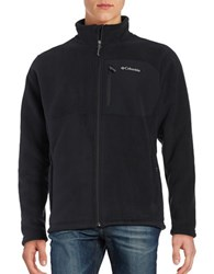 Columbia Sherpa Lined Fleece Zip Up Black