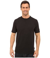 Woolrich First Forks Solid Tee Black Men's T Shirt