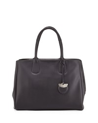 Nolita Large Gancio Tote Bag Nero Black Salvatore Ferragamo Nero Black
