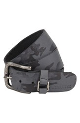Men's A. Kurtz 'Hadden' Camo Print Leather Belt