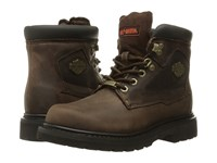 Harley Davidson Bayport Brown Women's Lace Up Boots