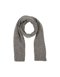 Luigi Borrelli Napoli Accessories Oblong Scarves Men Grey