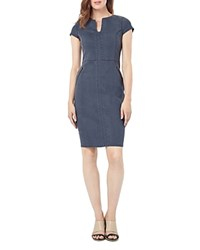 Phase Eight Magda Denim Dress Grey