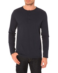 Menlook Label Don Navy T Shirt