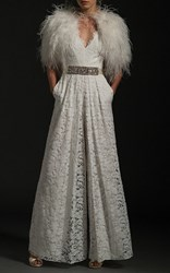 Temperley London The Noemia Jumpsuit White