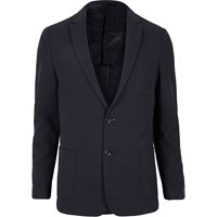 Vito River Island Mens Dark Blue Blazer
