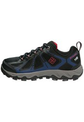 Columbia Peakfreak Xcrsn Ii Xcel Outdry Hiking Shoes Black Bright Red