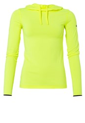 Nike Performance Sports Shirt Volt Black Neon Yellow