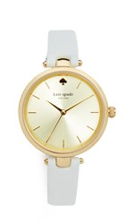 Kate Spade Holland Watch Gold White