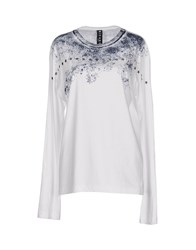 Richmond Denim Topwear T Shirts Women White