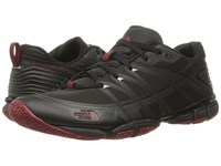 The North Face Litewave Ampere Triangle Maze Print Ruby Red Men's Shoes Black