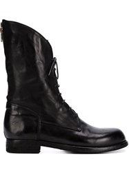 Officine Creative Mid Calf Length Boots Black