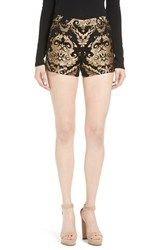 Alice Olivia Women's Marisa Brocade Shorts