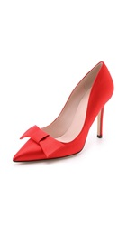 Kate Spade Layla Bow Pumps Red