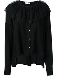 Faith Connexion Oversized Blouse Black