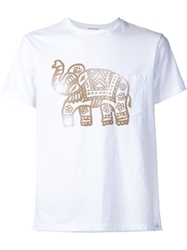 Engineered Garments Elephant Print T Shirt