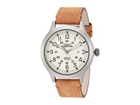 Timex Expedition Scout Leather Strap Tan Gray Natural Watches Brown