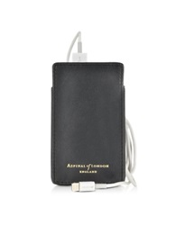 Aspinal Of London Tech Charger Pack With Leather Pouch Black