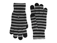 Smartwool Striped Liner Glove Black Extreme Cold Weather Gloves