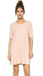 Wilt Trapeze Tee Dress Cantaloupe