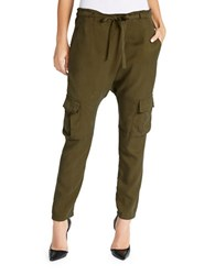 William Rast Drapy Cargo Pants Olive
