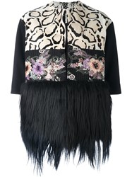 Antonio Marras Fur Hem Jacket Black