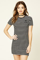 Forever 21 Oops Striped T Shirt Dress