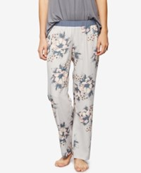 A Pea In The Pod Post Pregnancy Pajama Pants Floral Print