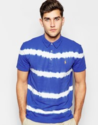 Polo Ralph Lauren Polo Shirt With Tie Dye Regular Fit Blue