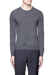 Altea Crew Neck Virgin Wool Sweater Grey