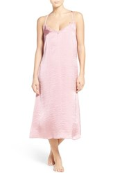 Band Of Gypsies Women's Lace Inset Midi Nightgown