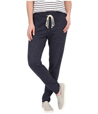Splendid Bias Stripe Active Pants Navy Women's Casual Pants