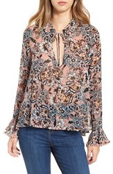 For Love And Lemons Women's 'Gracie' Floral Print Blouse