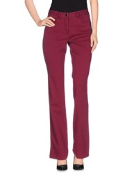 Paul And Shark Trousers Casual Trousers Women Garnet