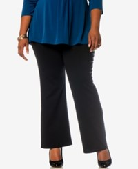 Motherhood Maternity Plus Size Maternity Dress Pants Black
