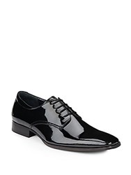 Calvin Klein Glossy Lace Up Oxfords Black