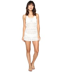 Roxy Crochet Sporty Cover Up Cream Women's Swimwear Beige