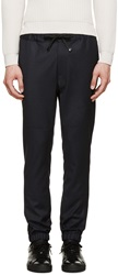 Marc Jacobs Navy Casual Wool Trousers
