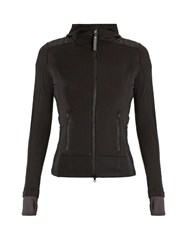 Adidas By Stella Mccartney Base Layer Zip Through Performance Jacket Black