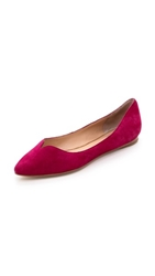 Belle By Sigerson Morrison Vanessa Flats Ruby