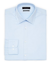 The Men's Store At Bloomingdale's Textured Solid Dress Shirt Contemporary Fit Sky Blue
