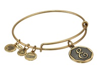 Alex And Ani Initial E Charm Bangle Rafaelian Gold Finish Bracelet