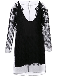 Maiyet Beaded Tunic Top Black