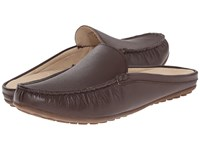 David Tate Lizzy Brown Calf Women's Slip On Shoes