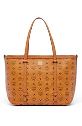 Mcm 'Medium Visetos' Coated Canvas Shopper