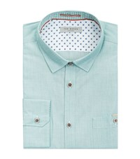Ted Baker Gomyway Woven Shirt Male Green