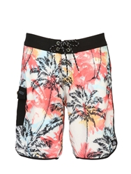 Reef 20' Palm Printed Stretch Boardshorts Multi