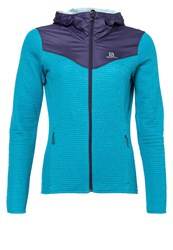 Salomon Elevate Fleece Kouak Blue Nightshade Grey Turquoise